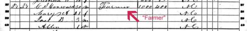 1860 Census C S Howard