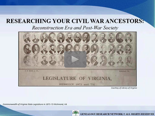 Reconstruction Era and Post War Society