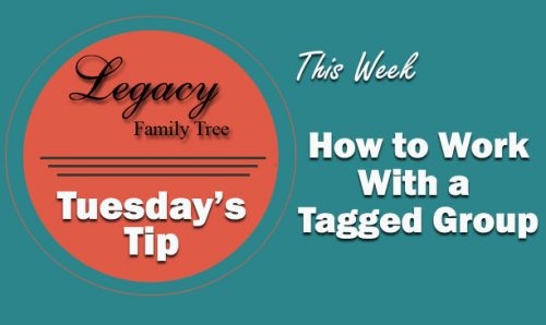 TT - How to Work With a Tagged Group