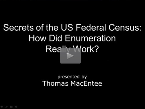 Secrets of the US Federal Census – How Did Enumeration Really Work?