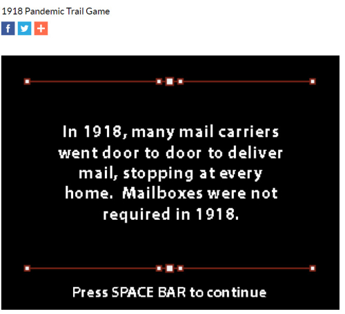 Pandemic mail facts