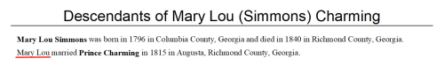 Mary Lou in reports