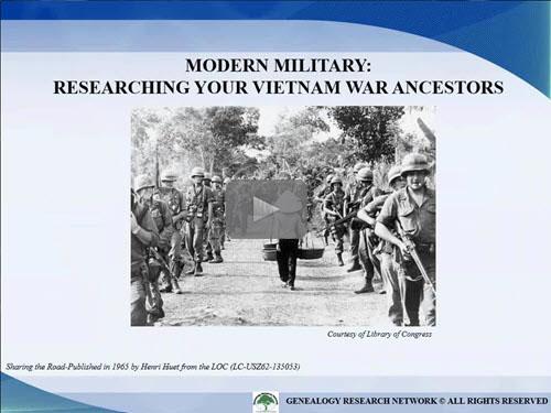 Modern Military: Researching Your Vietnam War Ancestors