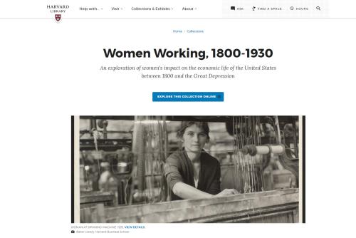Working women homepage