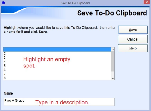 Save To-Do Clipboard
