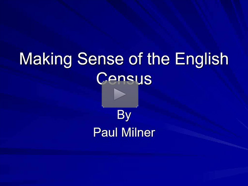Making Sense of the English Census by Paul Milner