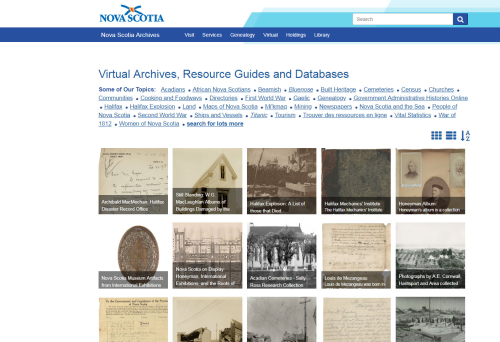 Nova Scotia Archives