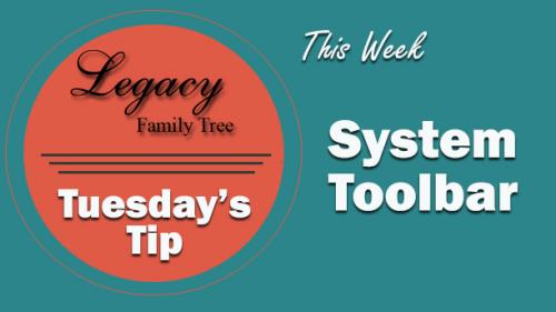 TT - System Toolbar