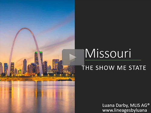 The Show Me State: Research in Missouri by Luana Darby