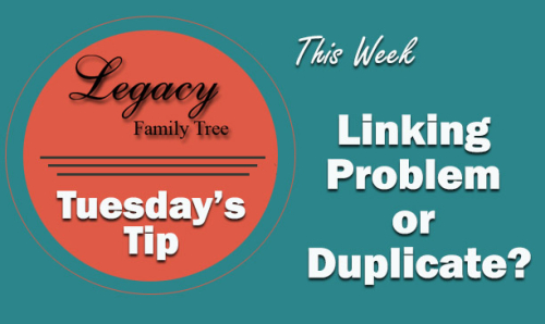 TT - Linking Problem or Duplicate