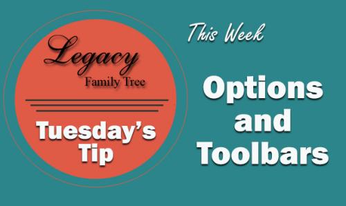 TT - Options and Toolbars