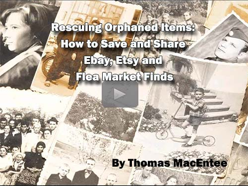 Rescuing Orphaned Items: How to Save and Share Ebay, Etsy and Flea Market Finds by Thomas MacEntee