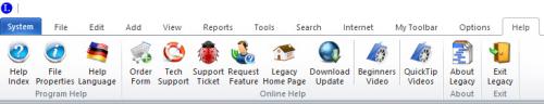 Help Toolbar