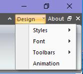 Design Drop Down