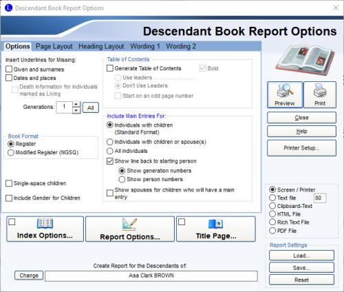 Descendant Book Report