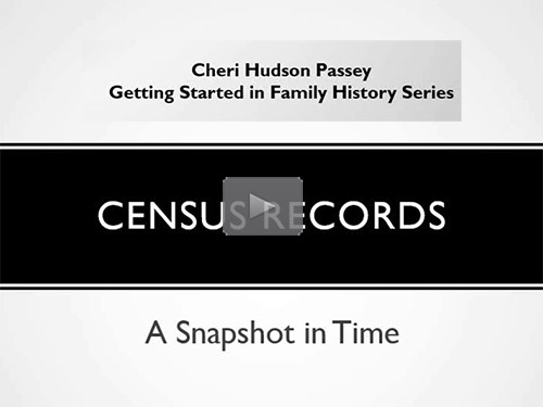 Getting Started in Family History - 6 - Census Records