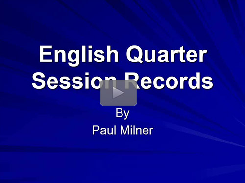 England's Quarter Sessions Records by Paul Milner