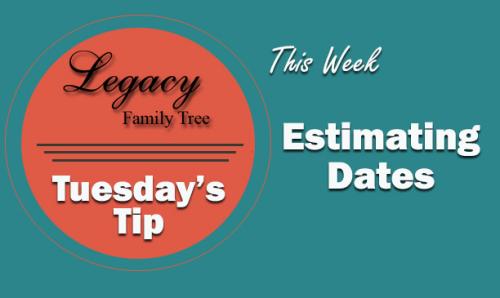 TT - Estimating Dates