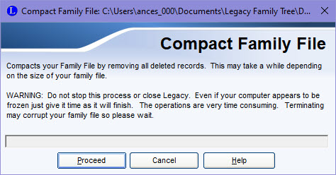 Compact Family File