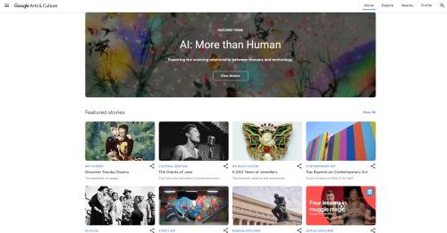 Google Arts Home