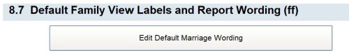 8.7 Default Family View Labels and Report Writing