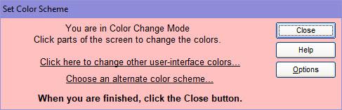Set Color Scheme