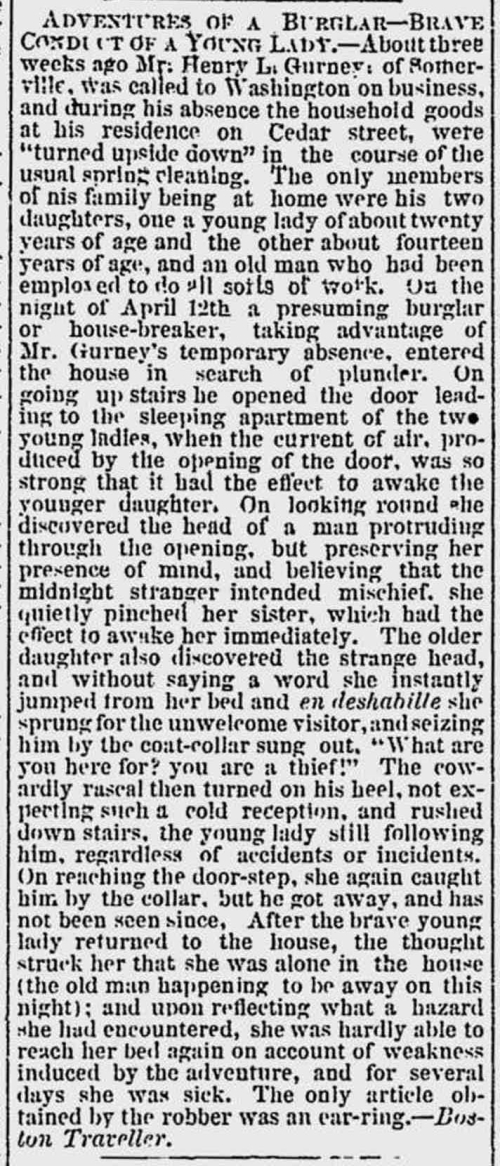 House Break In Providence Evening Gazette-1870-04-29 p3