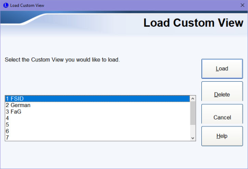 Load Custom View