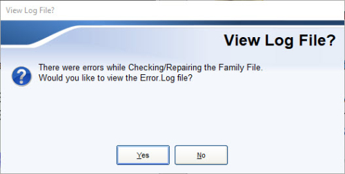 View Log File