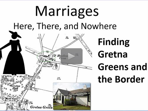 Marriages Here, There, and Nowhere: Finding Gretna Greens and Borders