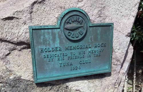 Memorial to Charles F. Holder, Catalina Island, California