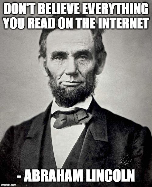 Lincoln meme