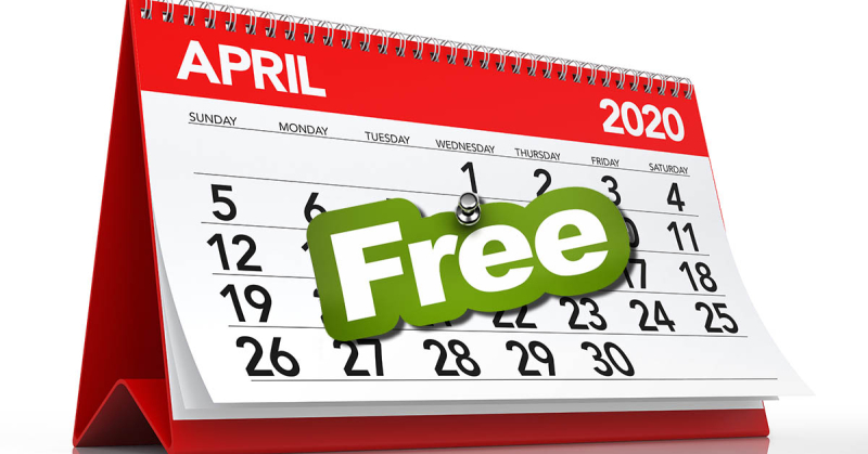 Free Webinar Each Day the Entire Month of April