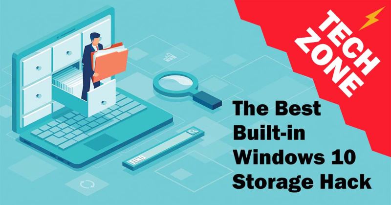 New TechZone Video - The Best Built-in Windows 10 Storage Hack by Marian Pierre-Louis