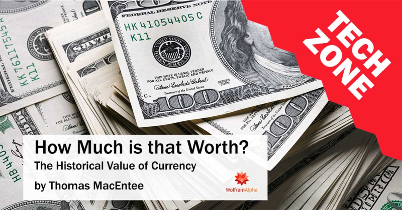 New TechZone Video - How Much is that Worth? The Historical Value of U.S. Currency by Thomas MacEntee