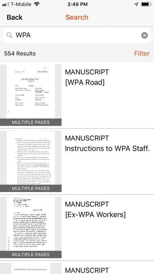 WPA filter