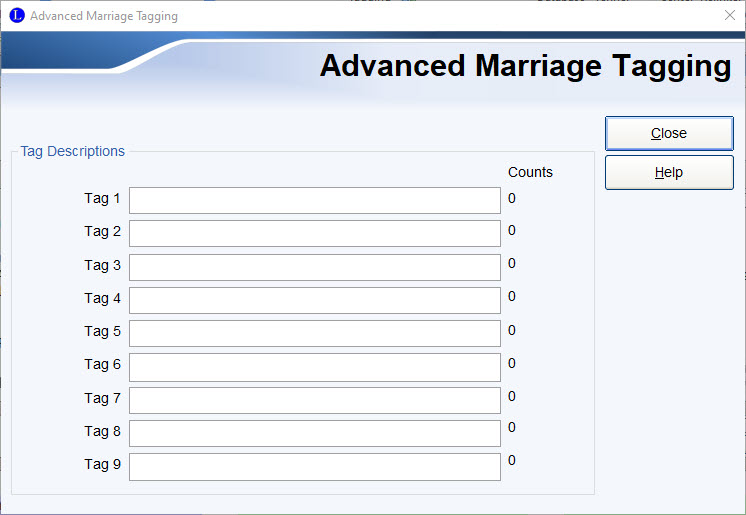 Advance Marriage Tagging