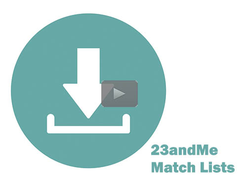 How to Download Matches and Segments at 23andMe