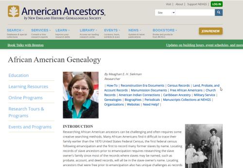 AfAm American Ancestors