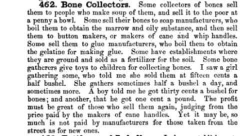 Bone collectors