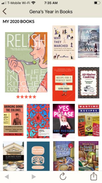 Goodreads 2020 Challenge 3