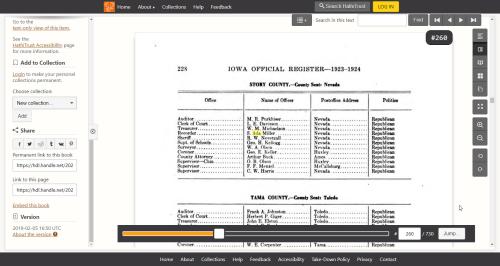 Iowa Official Register 1923 Hathi Trust