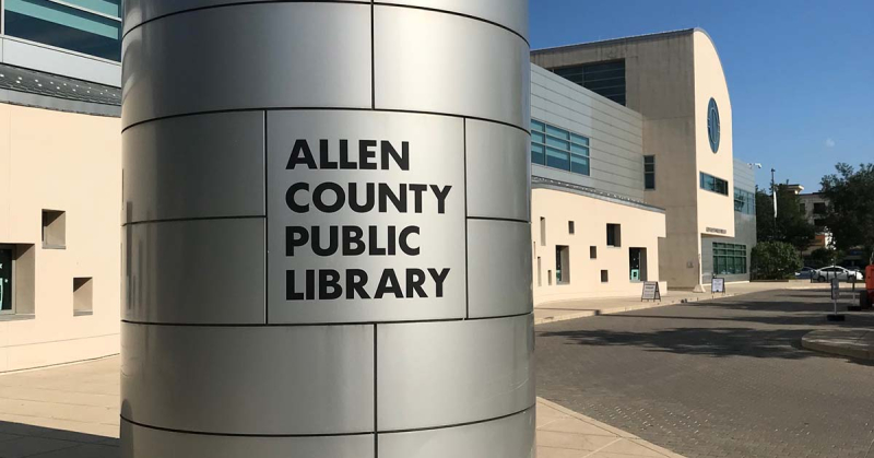 Summer Research Trip: Allen County Public Library