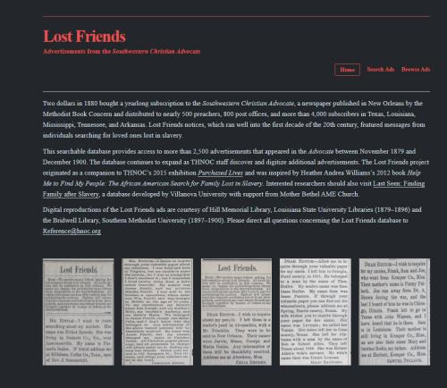 Lost Friends 1
